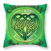 Callaghan Soul Of Ireland Throw Pillow