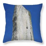 Callanish Tall Stone Throw Pillow