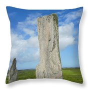 Callanish Tall Stones Throw Pillow