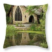 Callaway Gardens Chapel - Pine Mountain Georgia Throw Pillow