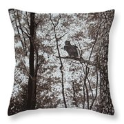 Callaway Great Horned Owl Throw Pillow