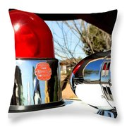 Calling All Cars Throw Pillow
