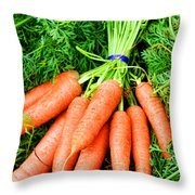Calling All Rabbits By Diana Sainz Throw Pillow