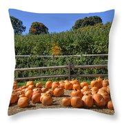 Calling Autumn Throw Pillow by Joann Vitali