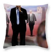 Calling In Hit Markers-smooth Operator 1 Throw Pillow