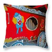 Calliope Wagon Throw Pillow