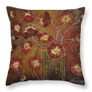 Calm And Gentle Throw Pillow by Elena  Constantinescu