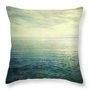 Calm At The Summer Sea Throw Pillow