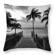 Calm Before Storm Throw Pillow