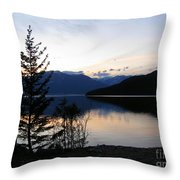 Calm Evening Throw Pillow
