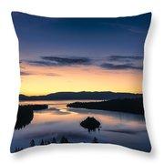 Calm Morning Throw Pillow
