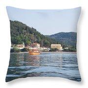 Calm Sea 3 Throw Pillow