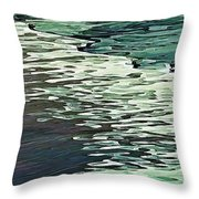 Calm Shores Throw Pillow