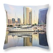 Calm Summer Morning Throw Pillow