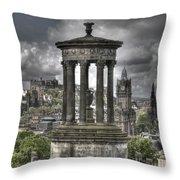 Calton Hill Throw Pillow