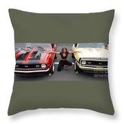 Camaro Envy Throw Pillow