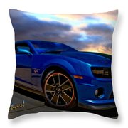 Camaro Hot Wheels Edition Throw Pillow