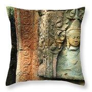 Cambodia Angkor Wat 1 Throw Pillow