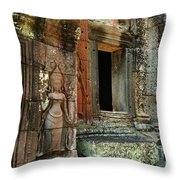 Cambodia Angkor Wat 2 Throw Pillow