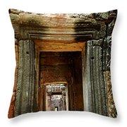 Cambodia Angkor Wat 5 Throw Pillow