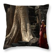 Cambodia Angkor Wat 7 Throw Pillow