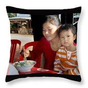 Cambodian Life 02 Throw Pillow