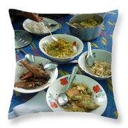 Cambodian Life 13 Throw Pillow