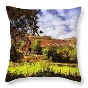 Cambria Farmland Throw Pillow