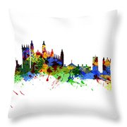 Cambridge England Throw Pillow