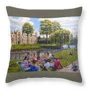 Cambridge Summer Throw Pillow