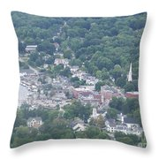 Camden Harbor 2381 Throw Pillow