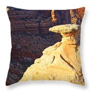 Camel Rock Throw Pillow