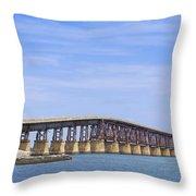 Camelback Bridge Throw Pillow