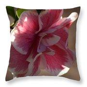Camelia Sansaqua Throw Pillow