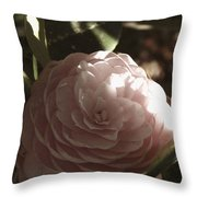 Camellia 2 Throw Pillow