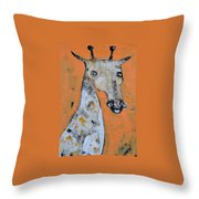 Camelopardus Throw Pillow