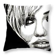 Cameron Diaz Throw Pillow