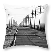 Cameron Prairie Road Throw Pillow