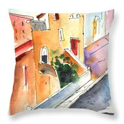Camogli In Italy 01 Throw Pillow