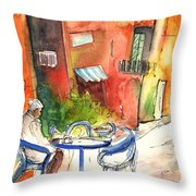 Camogli In Italy 05 Throw Pillow