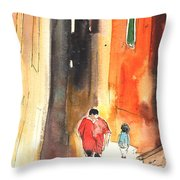 Camogli In Italy 07 Throw Pillow
