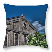 Camp Randall Field House Throw Pillow