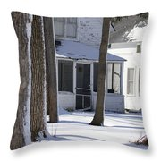 Campgrounds One Throw Pillow