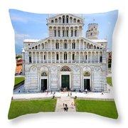 Campo Dei Miracoli - Pisa Throw Pillow