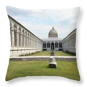 Camposanto  Cathedral Pisa Throw Pillow