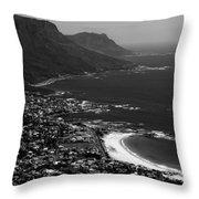 Camps Bay Cape Town Throw Pillow by Aidan Moran