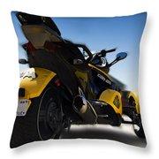 Can-am Spyder Throw Pillow