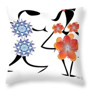 Can I Have This Dance Throw Pillow