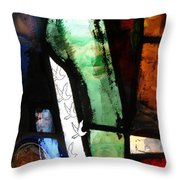 Can One Dove Free The World? Throw Pillow