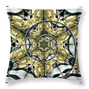 Can You Feel It Throw Pillow by Leslie Kell